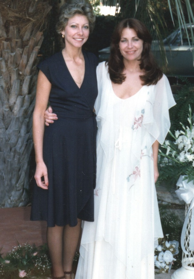 Christine 1977 at Her Weddding with Raphael