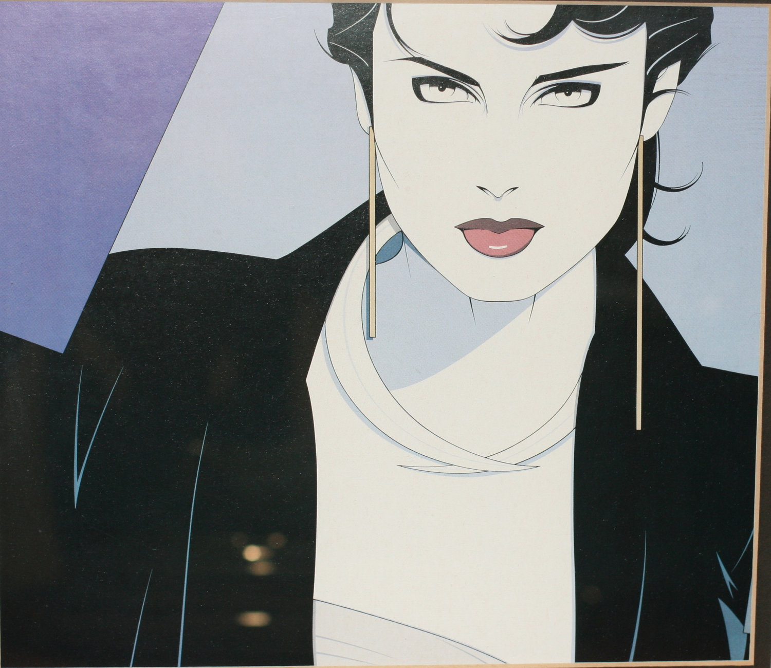 Rosamond And Patrick Nagel Rosamondpress