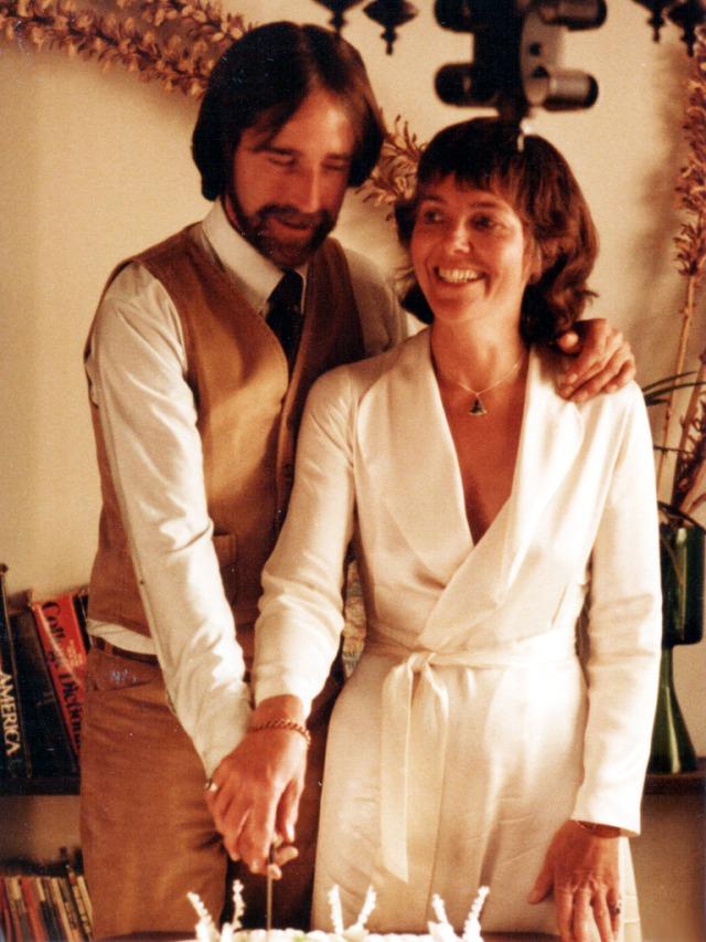 Greg 1979 & Wife at their Wedding