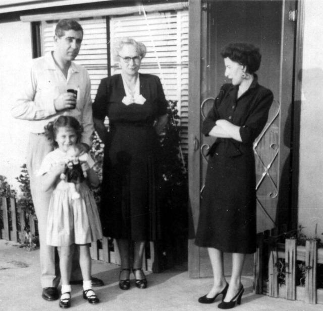 Prescos 1952 Vic, Christine, Melba & Rosemary
