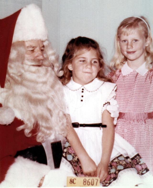 Vicki 1960 Santa Claus