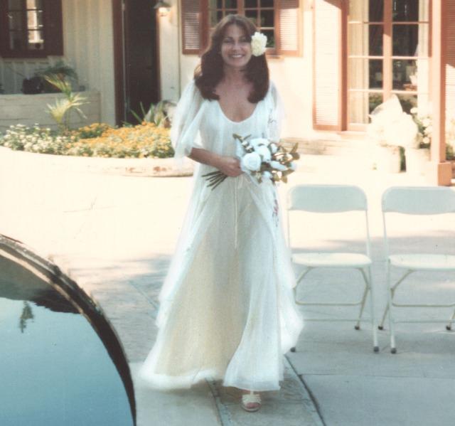 Christine 1977 at Her Wedding