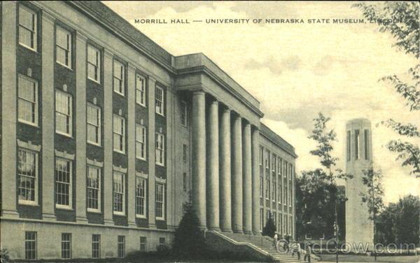 Morrill Hall, University of Nebraska State museum Lincoln
