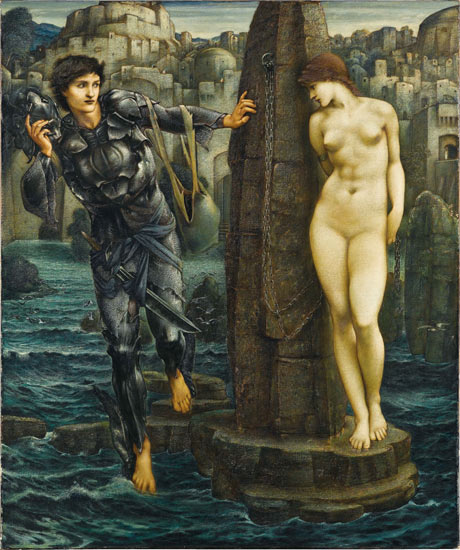 Edward Burne-Jones's The Rock of Doom, 1885-88