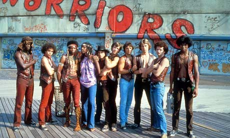 The film of The Warriors, 1979