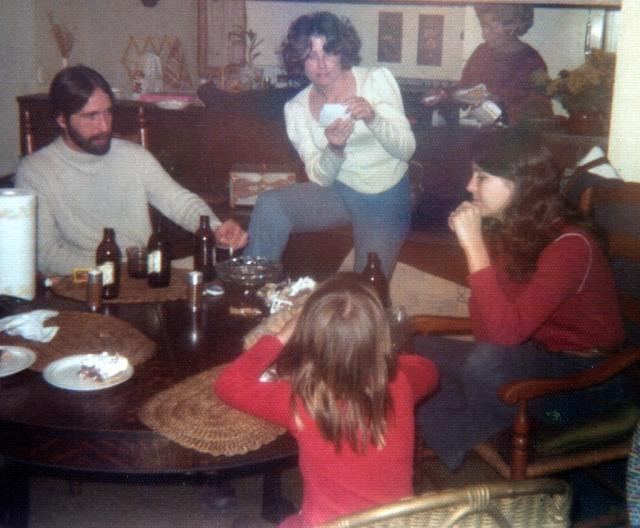 Prescos 1975 Greg, Christine, Shannon, Vicki & Rosemary