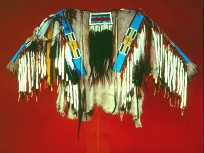 Nez_Perce_beaded_shirt