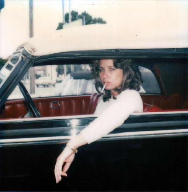 Christine 1980 Modeling in Car