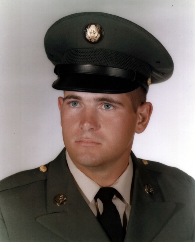 Mark 1966 Army Basic Training Graduation