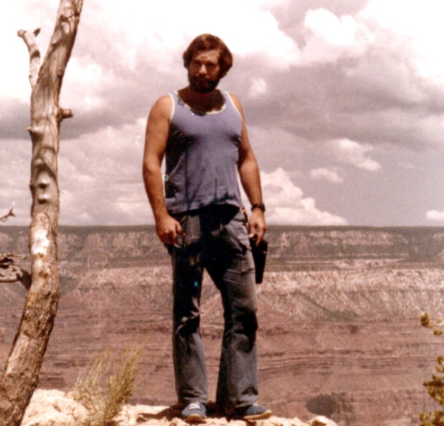 Mark 1979 on Grand Canyon Rim