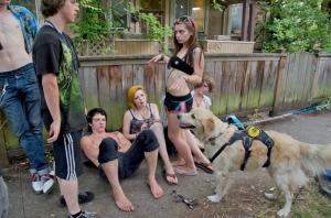 Whiteaker Block Party, Eugene, Oregon  2012