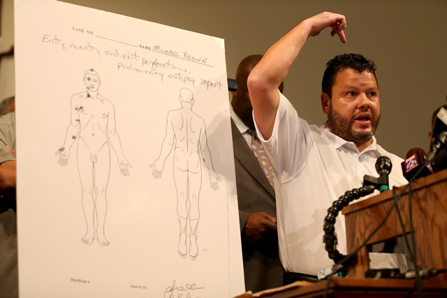 Family, Medical Examiner Discuss Autopsy Results In Brown Ferguson Shooting