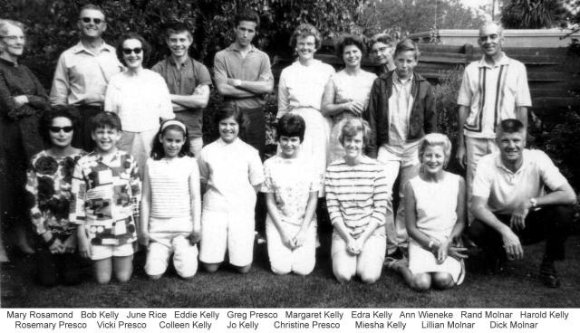 Rosamonds 1963 Family Gathering 3