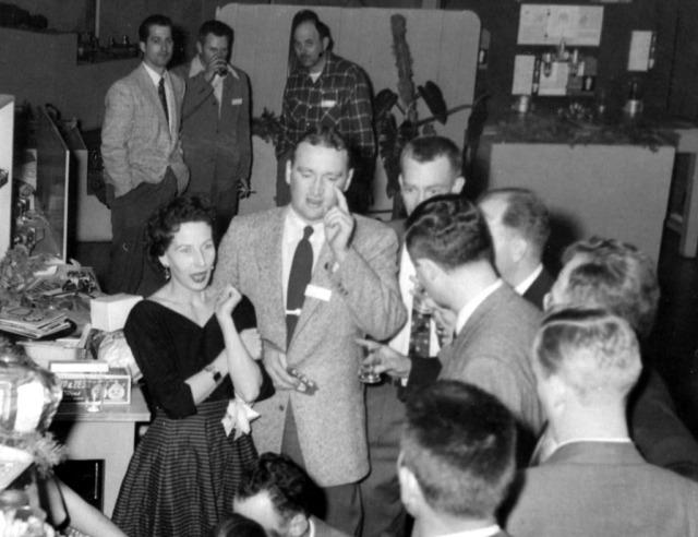 Rosemary 1955 at Company Party 3
