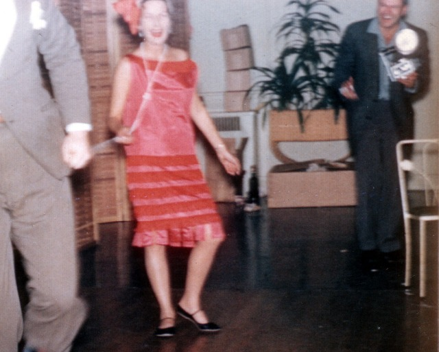 Rosemary 1959 as Flapper (color)
