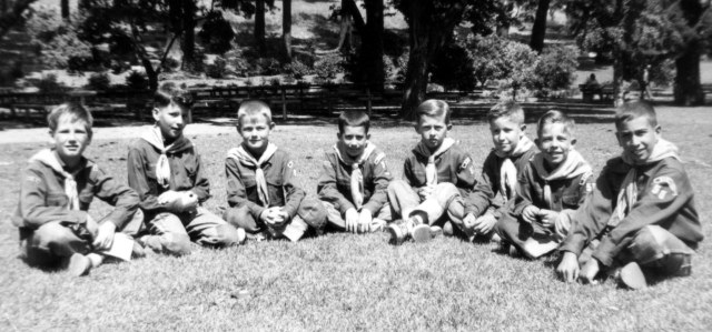 Greg 1954 in Cub Scout Pack