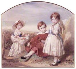 by George Richmond, watercolour, 1843