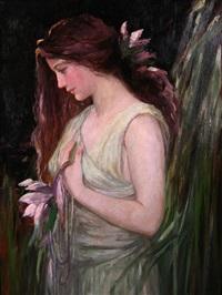 church-portrait-of-a-woman-in-green