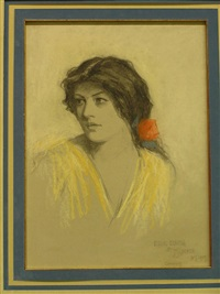church-profile-of-a-young-woman