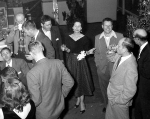 Rosemary 1955 at Company Party 2