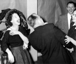 Rosemary 1955 at Company Party 4