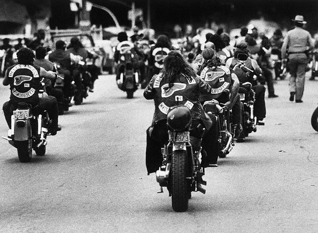Hell's Angels Ride the Streets
