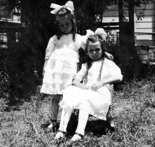 Rosamonds 1918 June &  Bonnie