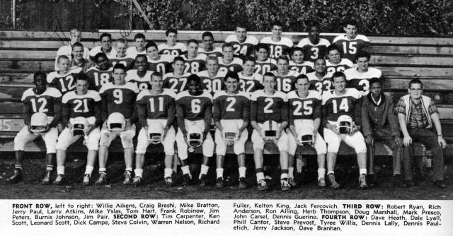 Mark 1961Junior Varsity Football Oakland High