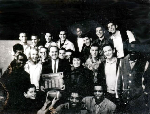 Mark 1962 Oakland High Junior Varsity Football Party