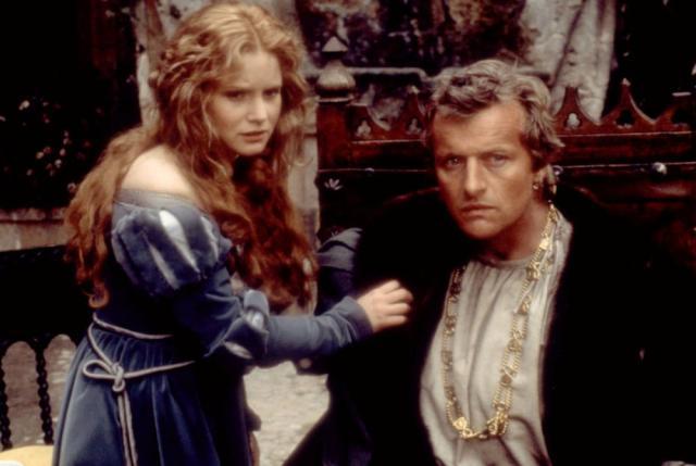 FLESH & BLOOD, Jennifer Jason Leigh, Rutger Hauer, 1985. ©Orion Pictures Corp