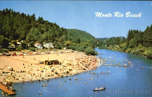 Monte Rio Beach