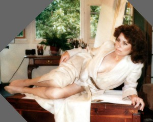 Christine 1980 Modeling on Chest