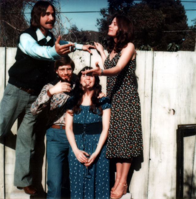 Greg 1975 Ken, Vicki & Christine