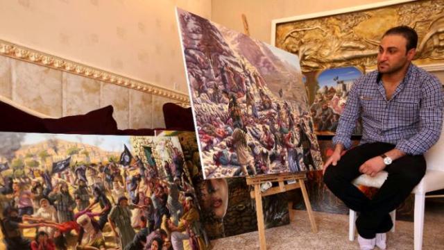 Yazidi-artist-Ammar-Salim2