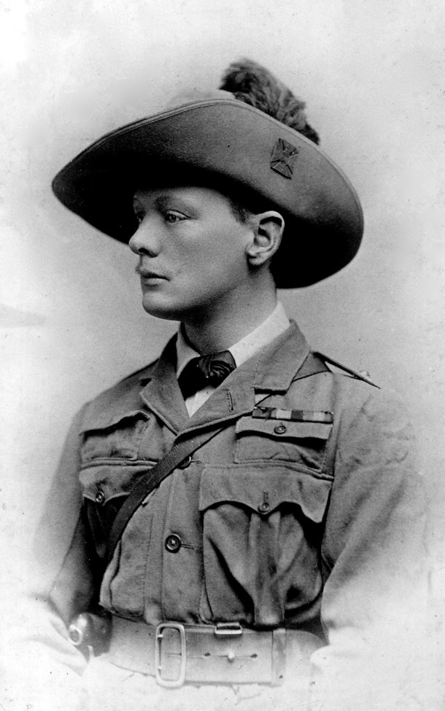 Winston Churchill serving in the British Army. (Photo by Time Life Pictures/Pictures Inc./The LIFE Picture Collection/Getty Images)