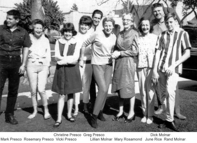 Prescos 1964 Family Gathering 1