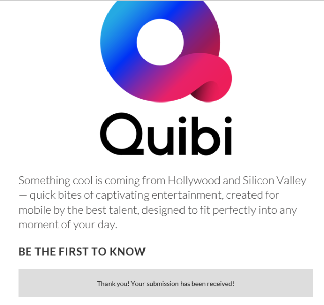 I Am Member of Team Quibi | Rosamond Press